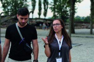 Amanda ist Jüdin aus Hamburg, Amru kam als Flüchtling aus Syrien nach Deutschland. Foto: Matthias Hauke